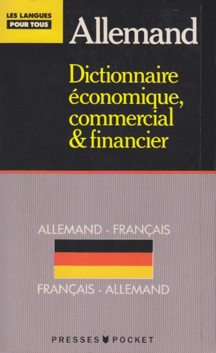 Allemand, Dico Eco, Com & Financier par Thiele
