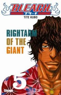 Bleach, Tome 5 : Rightarm of the Giant par Taito Kubo