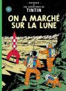 Les Aventures de Tintin, tome 17 : On a march� sur la Lune par Herg�