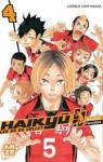 Haikyu !! Les as du volley, tome 4 par Furudate