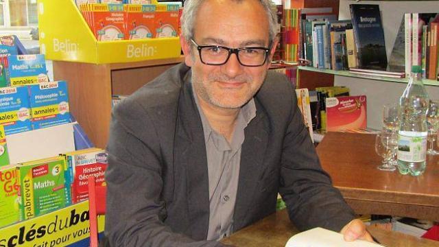 Emmanuel Grand, écrivain et invité de la Nuit Blanche des Livres 2016