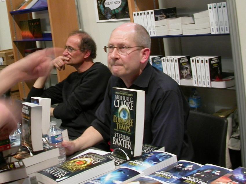 Stephen Baxter  Auteur De Les Vaisseaux Du Temps