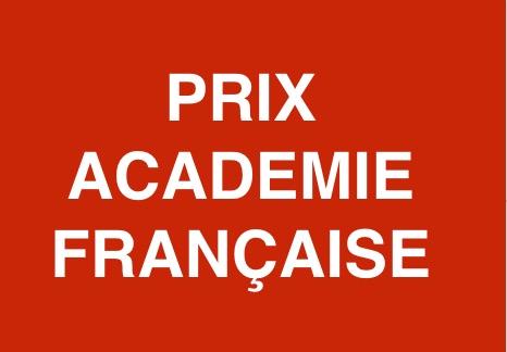 Académie Française  - Grand prix de littérature