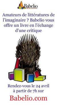 Les littératures de l'imaginaire à l'honneur de notre prochaine opération de Masse Critique