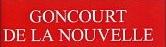 Goncourt  - Nouvelle